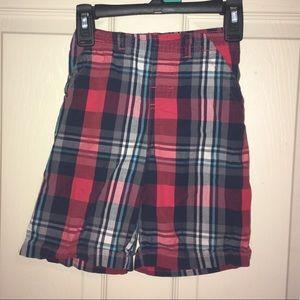 Size 5 Garanimals plaid shorts